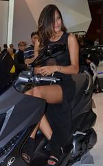 Eicma 2013 Model (224) (Pier Romano) Tags: woman sexy girl beautiful bike model expo milano moto motorcycle donne hostess bellezza fiera ciclo rho ragazze modelle eicma 2013