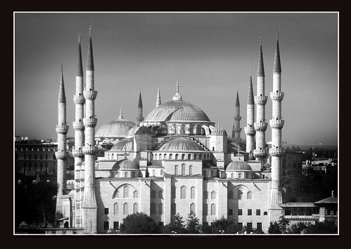 The Sultan Ahmed (The Blue) Mosque--Istanbul, Turkey