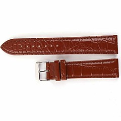 AMPM24 Brown Leather Sport Wrist Watch Strap Band Silver Buckle 20mm Watchbands WB2040 (karabaaa19) Tags: brown leather sport silver watch band strap wrist 20mm buckle watchbands ampm24 wb2040