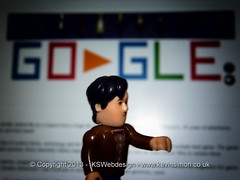 Dr Who & the 50th Anniversary Google Doodle