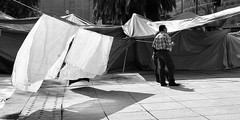 Tent City 20 (Carl Campbell) Tags: tents mexicocity strike ciudaddemxico
