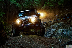 Winch Saves the Day (MarcSherwood) Tags: jeep winch offroading bcjeeping