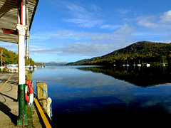 Lower Windermere (tubblesnap) Tags: bridge lake aquarium district lakes cumbria whitehaven windermere newby