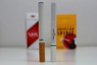 Electronic Cigarette vs. Tobacco Cigarette