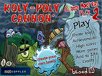 表情大砲:血腥怪物篇2(Roly-Poly Cannon: Bloody Monsters Pack 2)