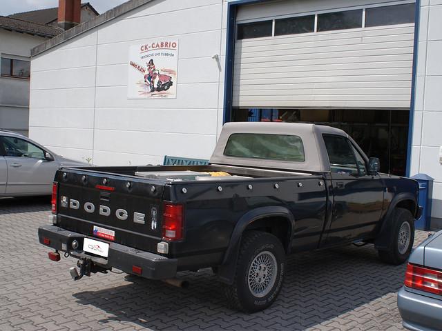 convertible dodge 1991 1989 dakota verdeck