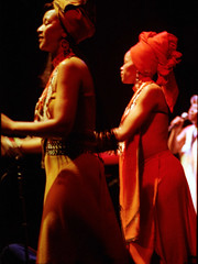 Township Express South African Gospel Singers Queen Elizabeth Hall with Pinise Saul RIP Julia Mathunjw RIP and the Manhattan Brothers Dec 1999 101 Thoko (photographer695) Tags: township express south african gospel singers queen elizabeth hall with pinise saul rip julia mathunjw manhattan brothers dec 1999 qeh sep 000