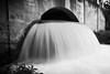 At a standstill (Geolilli) Tags: park longexposure white black blur texture lines composition contrast canon germany munich bavaria blackwhite waterfall soft exposure availablelight filter photograph nd grad 1022 neutral 400d