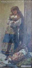 Romualdo Prati Venditrice di frutta 1908 olio su tela 140x69cm Collezione privata