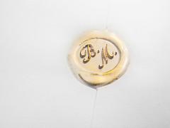 29/12/2013. B.M. (oltrelautostrada) Tags: wedding italy canon gold italia powershot modena matrimonio oro emiliaromagna g12 ceralacca timbro