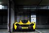 P1. (Alex Penfold) Tags: park london cars alex car yellow shot rear super mclaren autos carpark supercar p1 supercars penfold alexpenfold