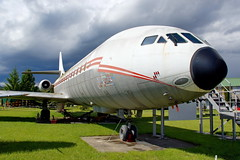 CE  F-ZACE  SE 210 Caravelle III (Antonio Doblado) Tags: airplane aircraft aviation museo airliner caravelle aviación montélimar sudest se210