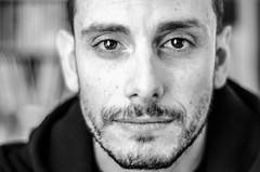 Giulio (Francesca D'Urbano) Tags: portrait bw look eyes bn occhi sguardo giallo ritratti ritratto