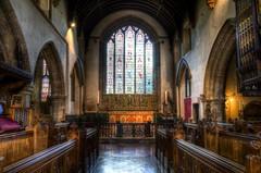 St John the Baptist Parish Church, Cirencester (Stokeparker) Tags: uk church nikon interior wideangle gloucestershire hdr cirencester cotswold photomatix 3exposures d7000 tokina1116mm