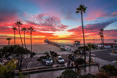SoBay Sunset (Shabdro Photo) Tags: california sunset losangeles manhattanbeach 1022mm sobay canon7d shabdrophoto