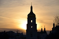Sunset (deVetal) Tags: sunset ukraine kiev киев закат україна київ украина захід софійськийсобор софиевскийсобор stsophiascathedralbelltower
