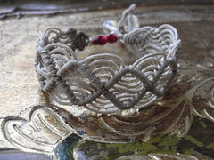 macrame bracelet (marianna micherina) Tags: diy handmade cords jewelry bracelet ethnic threads macram jewelries handmadejewelries handmadebracelet ethnicjewelry macramebracelet macrameearring waxedcords waxedpolyestercord