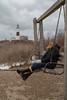 Sarah at Montauk Point (raelala) Tags: winter lighthouse newyork beach january longisland montauk atlanticocean longislandsound montaukpoint camphero canon1785mm canoneos7d rachelgreene canon7d thatlalagirlcom thatlalagirl january2014