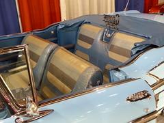 58 Chev Impala convertible (bballchico) Tags: chevrolet convertible plastic 1958 custom impala lowrider continentalkit kustom seatcovers davidcuellar grandnationalroadstershow2014