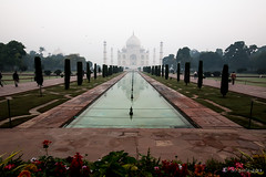 Taj Morning 7821 (Ursula in Aus - Away Travelling) Tags: india architecture taj tajmahal agra unesco uttarpradesh earthasia