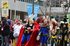 Calgary Comic and Entertainment Expo April 25 2014-6 (Michael Mckinney (Find my Twitter @MMckinneypho) Tags: costumes fiction canada men calgary costume comic expo cosplay witch books science x parade entertainment fantasy xmen 25 alberta superhero scifi april fi rogue thor sci wonders mutants supervillain dazzler scralet 201413