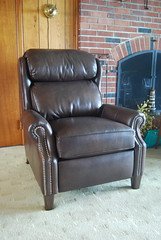 Big Man's Recliner (Brian's Furniture) Tags: leather indiana smith berne 3214 smithbrothers 53277 bigmansrecliner 3214leather bustlebackrecliner