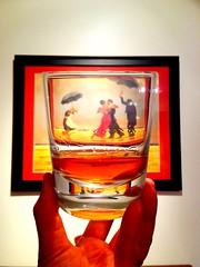 Day 167: Noah's Mill Therapy (farkasbrain) Tags: red dancers whiskey 365 bourbon noahsmill
