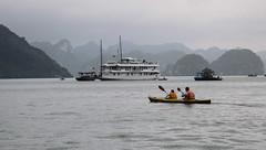 Ha Long - Tourist (chrisbastian44) Tags: vacation asian southeastasia vietnamese unesco worldheritagesite vietnam oriental orient hanoi nam halongbay worldheritage worldsaway northvietnam