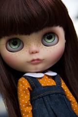 Mai ~ BP Custom (Renata S.P.) Tags: doll mai blythe freckles boneca bp custom takara rbl sardas neoblythe carvedlips carvednose renatasp bohemianpeace canont3i