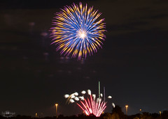 Fireworks (NoobieNikon) Tags: arizona colors beautiful 35mm nikon long exposure fireworks 4th july az gilbert f18 2014 d7100