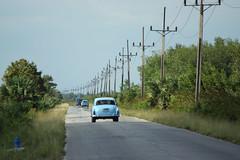 Cuba (RayKippig) Tags: road cars cuba autos kuba berlandleitung endlos landstrase cinagadezapata