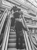 Stairs (pinhead1769) Tags: blancoynegro netherlands amsterdam stairs blackwhite holanda paísesbajos bwdreams mallcenter
