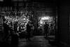 a gaze into darkness / it's closing time (Özgür Gürgey) Tags: 2016 35mm bw d750 darkcity eminönü nikon samyang evening lowlight street istanbul turkey