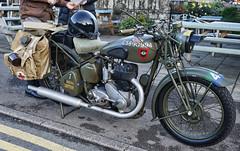 BSA WD M-20 500cc SV Single Cylinder (radleyfreak) Tags: birminghamsmallarmscompany bsa motorbike worldwar2 dispatchrider militarymotorcycling welshguards mustardgasdetector tintern monmouthshire
