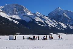 Ice Fishing (Alberta Parks) Tags: fishing icefishing winter cold fun recreation activity parks kananaskis lake fish regulations fishingregulations