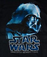 Star Wars Darth Vader 9-6-11-3 Graphic Tee Shirt (itstayedinvegas-4) Tags: darthvader starwars graphicteeshirt hansolo lukeskywalker