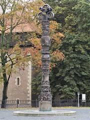 "Braunschweig, ""Christensule"" (bleibend) Tags: 2016 bs braunschweig christensule sule kunst kunstwerk olympus olympusomd olympusem5 omd em5 mft m43 m43cameras"