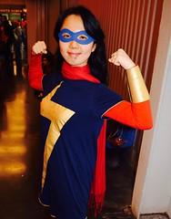DSC_0535 (Randsom) Tags: nycc 2016 newyorkcomiccon nycomiccon javitscenter october nyc newyorkcity cosplay costume fun comicbooks comicconvention marvelcomics avengers heroine superheroine msmarvel mask cape female
