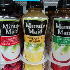 3 juices? I only counted 2. (pikespice) Tags: 10millionphotos werehere hereios irony ironic isntitironic