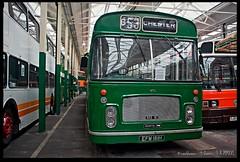 Bristol-RE (zweiblumen) Tags: bristolre bus classic vintage chester efm161h northwestmuseumofroadtransport sthelens merseyside england uk canoneos50d hdr polariser zweiblumen