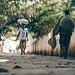 African Street Shot