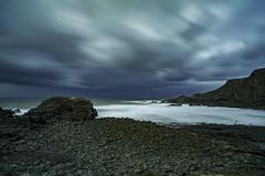 Stormy Skies Over Hartland Quay (Dixie Deane) Tags: longexposure leefilters leebigstopper hartlandquay northcornwallcoast distagont2821ze zeiss