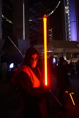 DSC01993 (Moodycamera Photography) Tags: lightfight sabre cityhall toronto a5000 sony night lights square fight aryanna ontario