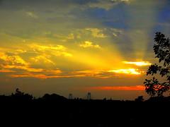 New York Sunset (dimaruss34) Tags: newyork brooklyn dmitriyfomenko image sky clouds sunset brilliant