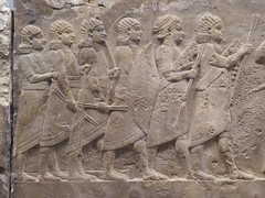 Warriors (Aidan McRae Thomson) Tags: nineveh relief sculpture ancient assyrian mesopotamia britishmuseum london