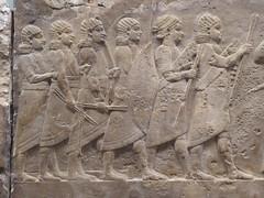Warriors (Aidan McRae Thomson) Tags: nineveh relief sculpture ancient assyrian mesopotamia britishmuseum london