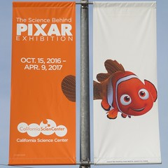The Science Behind Pixar  Nemo Banner (TedParsnips) Tags: disney pixar banner streetlight californiasciencecenter sfv chatsworth california southerncalifornia nemo findingnemo