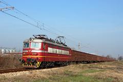 Lom Freight (Krali Mirko) Tags: bdz cargo freight train electric locomotive skoda 64e2 43535 lom bulgaria railway transport