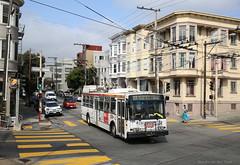 Old trolleybus (Maurits van den Toorn) Tags: trolleybus obus trolley skoda muni sanfrancisco transportation usa vs america