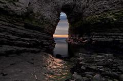 Flamborough Head (jlc pics) Tags: flamborough head yorkshire sea sky rocks cliffs orange water lee filter big stopper seascape landscape nikon d7000 longexposure sunrise